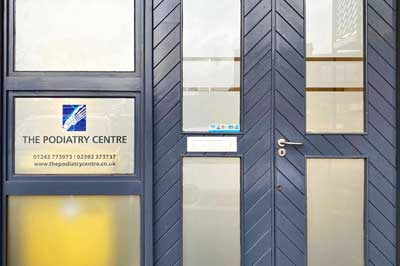 podiatry centre in chichester