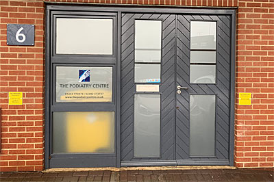 The Podiatry Centre - 13 The Hornet, Chichester, West Sussex, PO19 7JL