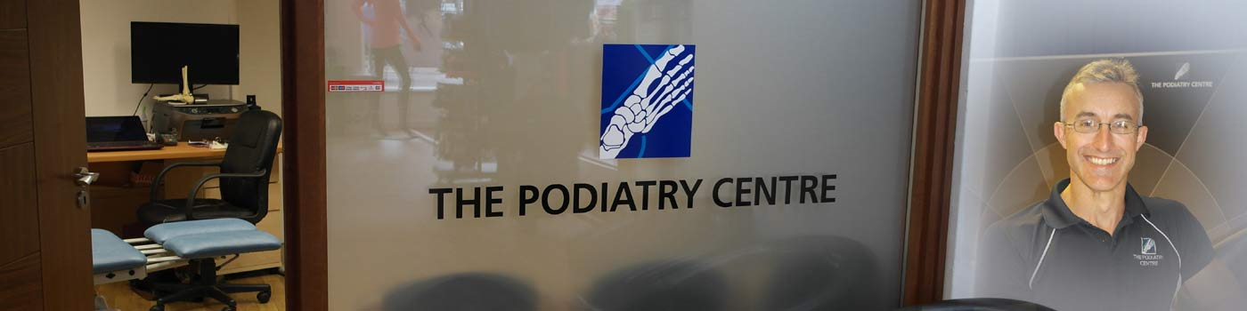 podiatrists Simon Collins, Chris Webb and Paul Harradine of the Podiatry Centre - offering footcare treatment in Portsmouth, Farnham, Chichester and Southampton.